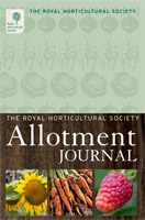 The front cover of the RHS Allotment Journal